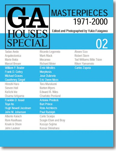 GA Houses Special 02: Masterpieces 1971-2000