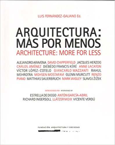 ARCHITECTURE: MORE OR LESS