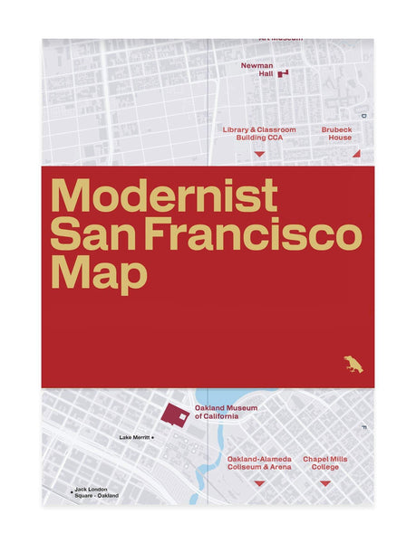 Modernist San Francisco Map: Guide to Modernist Architecture in Bay Area