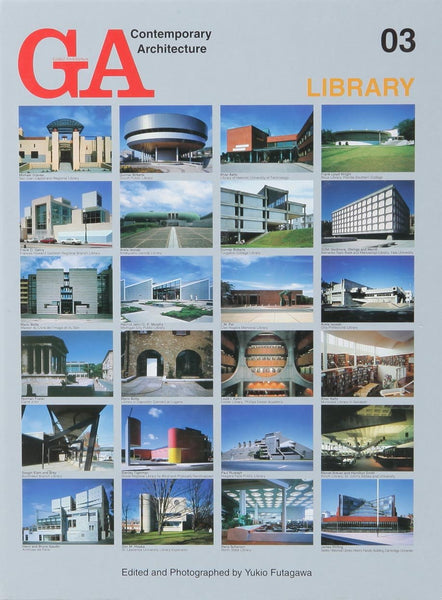 GA Contemporary Architecture 03: Library