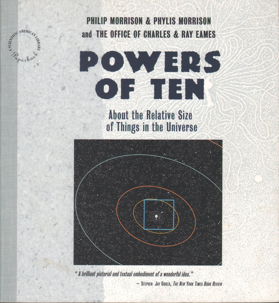 Powers of Ten: About the Relative Size of Things in the Universe