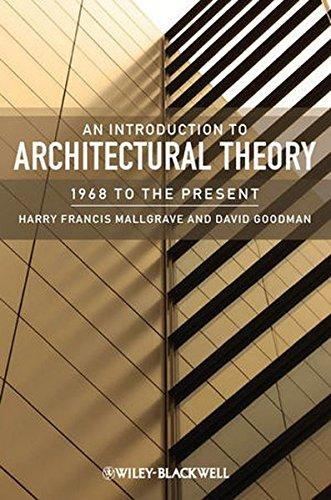 An Introduction to Architectural Theory: 1968 to Present