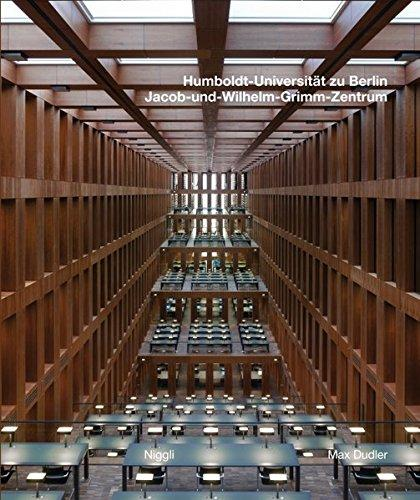 Max Dudler: Jacob and Willhelm Grimm Centre - The New Central Library of the Humboldt University of Berlin
