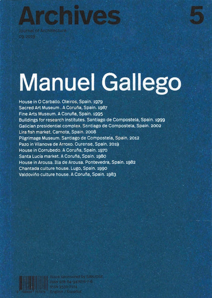 Archives 5: Manuel Gallego