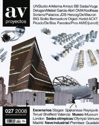 AV Proyectos 027: Stages / Museums / Olympic Venues / Premises