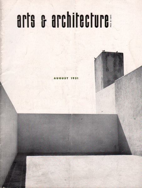 Arts & Architecture - August 1951