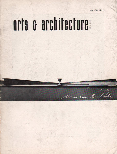 Arts & Architecture - March 1952