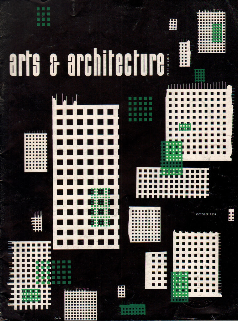 Arts & Architecture - October 1954