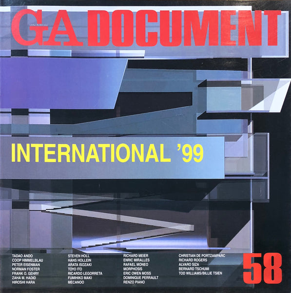 GA Document 58: International '99