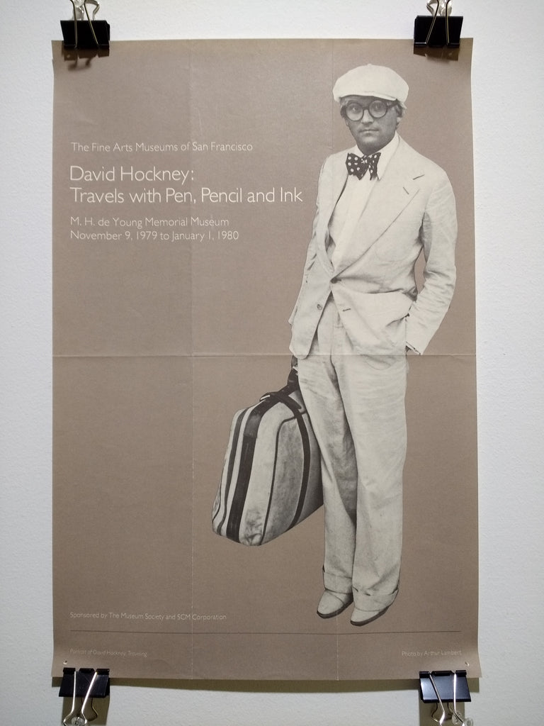 David Hockney - Travels With Pen, Pencil and Ink (Poster)