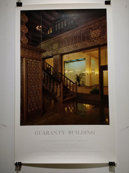 Dankmar Adler/Louis Sullivan - Guaranty Building, Buffalo, New York (Poster)