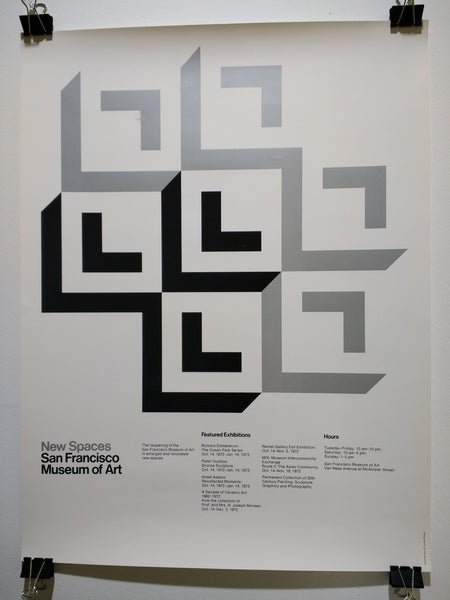 New Spaces - San Francisco Museum Of Art (Poster)