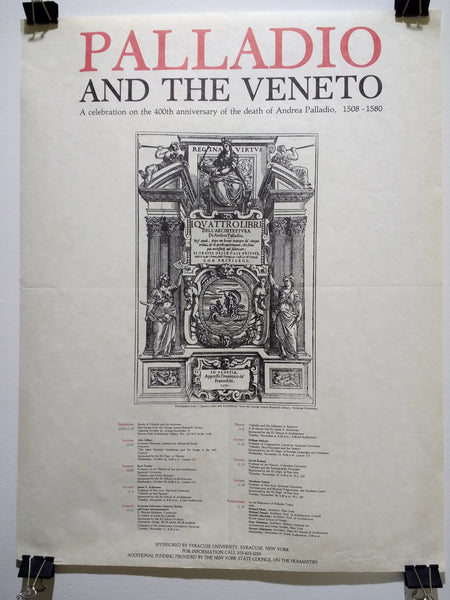 Andrea Palladio - Palladio And The Veneto (Poster)