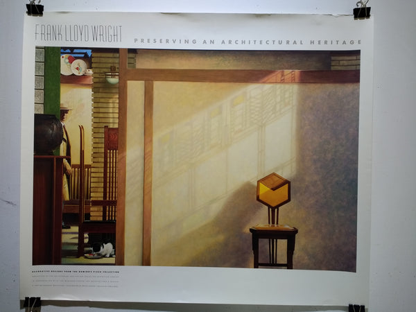 Frank Lloyd Wright - Preserving An Architectural Heritage (Poster)