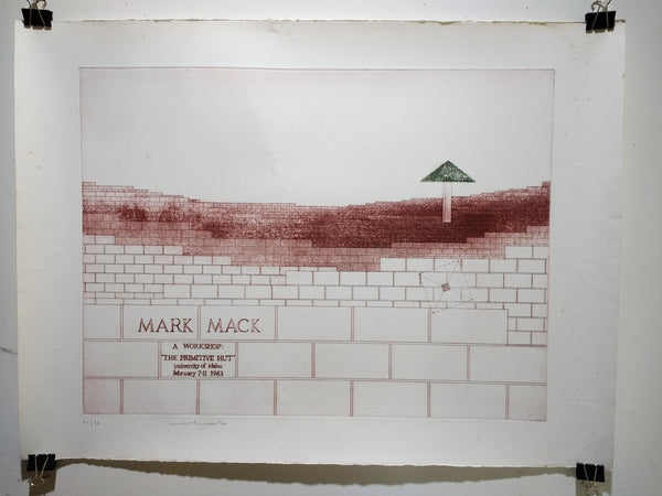 Mark Mack - A Workshop: The Primitive Hut (Poster)