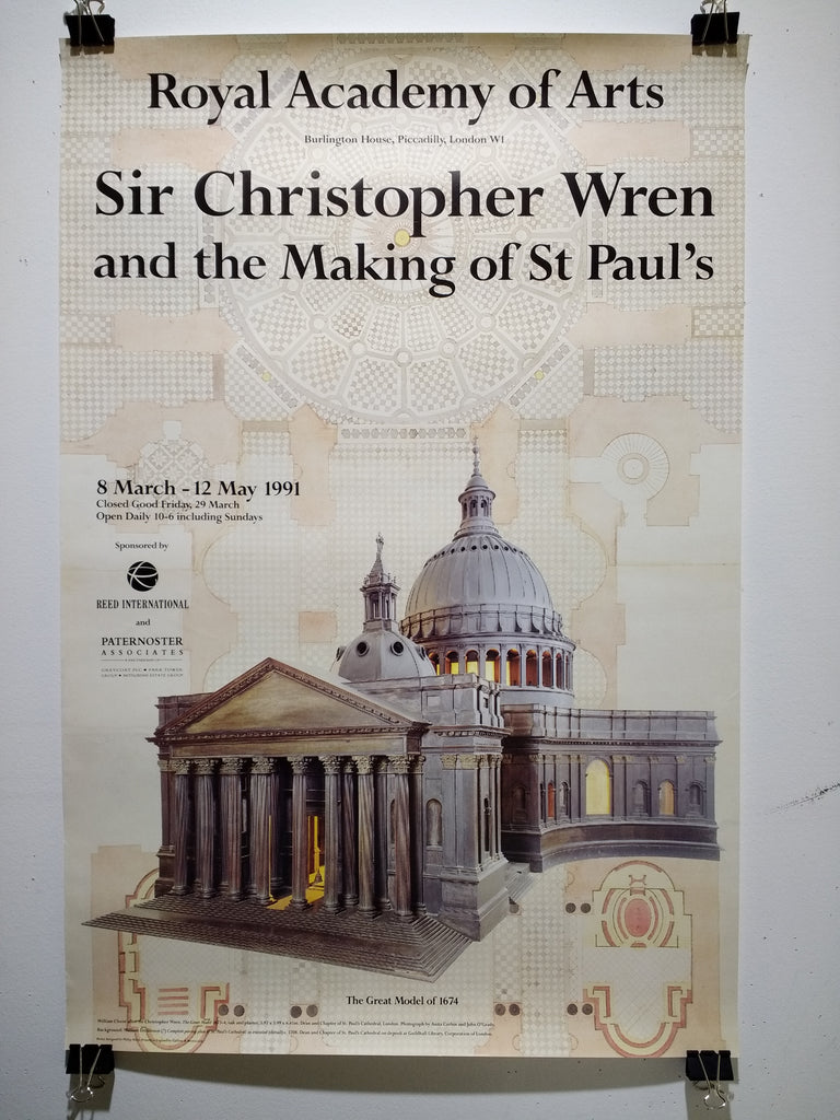 Sir Christopher Wren - And The Making Of St Paul's (Poster)