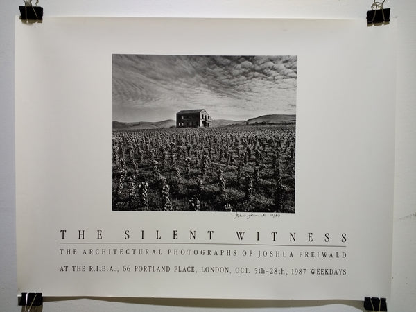 Joshua Freiwald - The Silent Witness (Poster)
