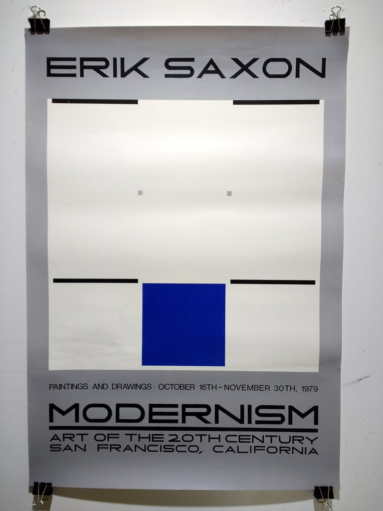 Erik Saxon - Paintings And Drwaings (Poster)
