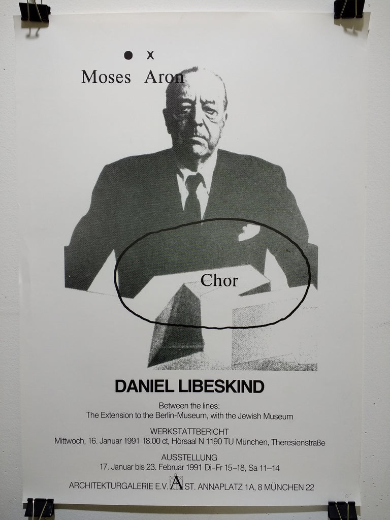 Daniel Libeskind - Moses Aron Chor (Poster)