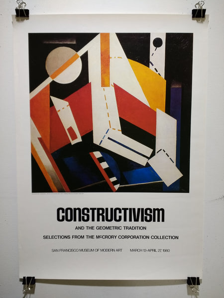 Constructivism And The Geometric Tradition (Poster)