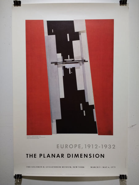 Europe, 1912-1932 - The Planar Dimension (Poster)