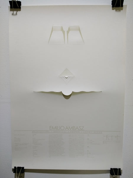 Emilio Ambasz - Architectural-Industrial-Graphic-Exhibit Design (Poster)