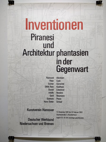 Inventionen - Piranesi Und Architektur Phantasien In Der Gegenwart (Poster)