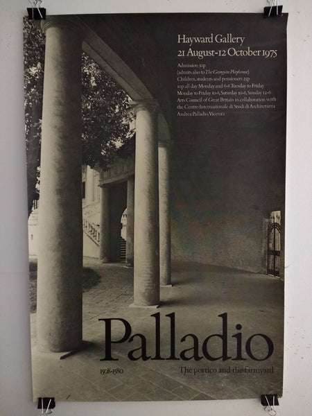 Palladio - The Portico And The Farmyard 1508-1580 (Poster)