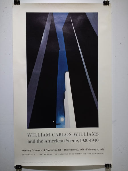 William Carlos Williams And The American Scene 1920-1940 (Poster)