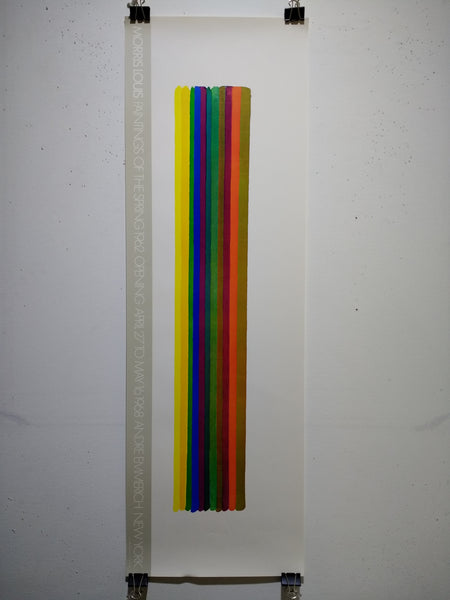 Morris Louis - Paintings Of The Spring 1962 (Poster)