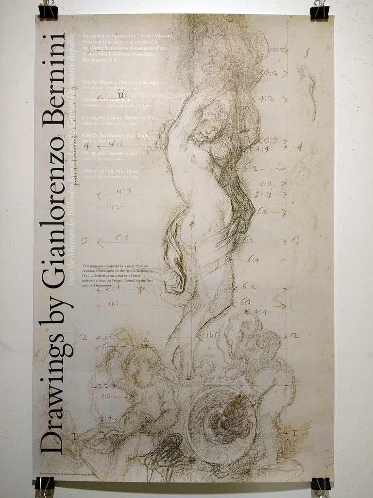 Gianlorenzo Bernini - Drawings By Gianlorenzo Bernini (Poster)