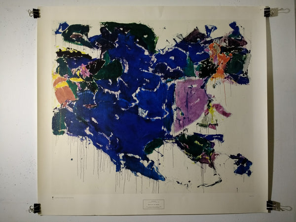 Sam Francis - Blue Out Of White (Poster)