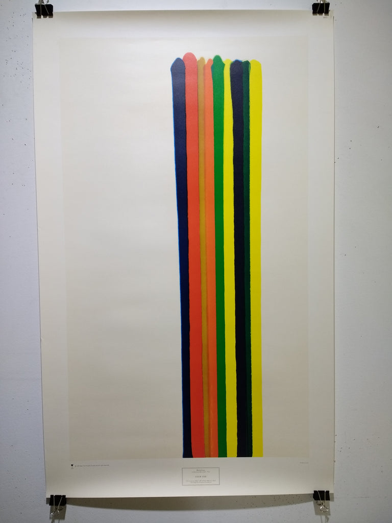 Morris Louis - Color Line (Poster)