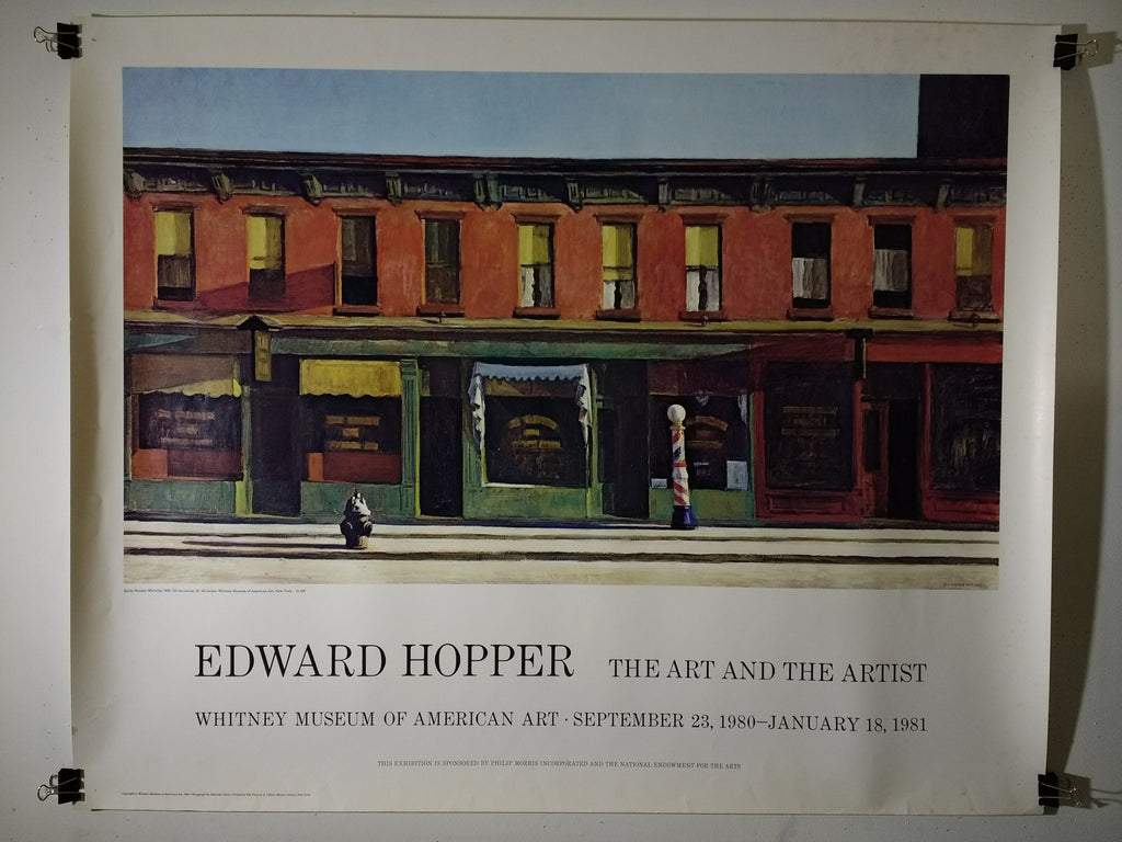 Edward Hopper - The Art And The Artist (Poster)