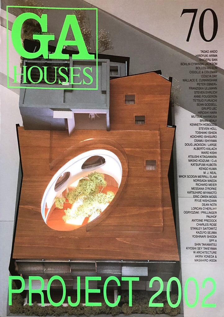GA Houses 70: Project 2002