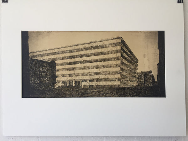 Mies van der Rohe - 4 Concrete Office Building