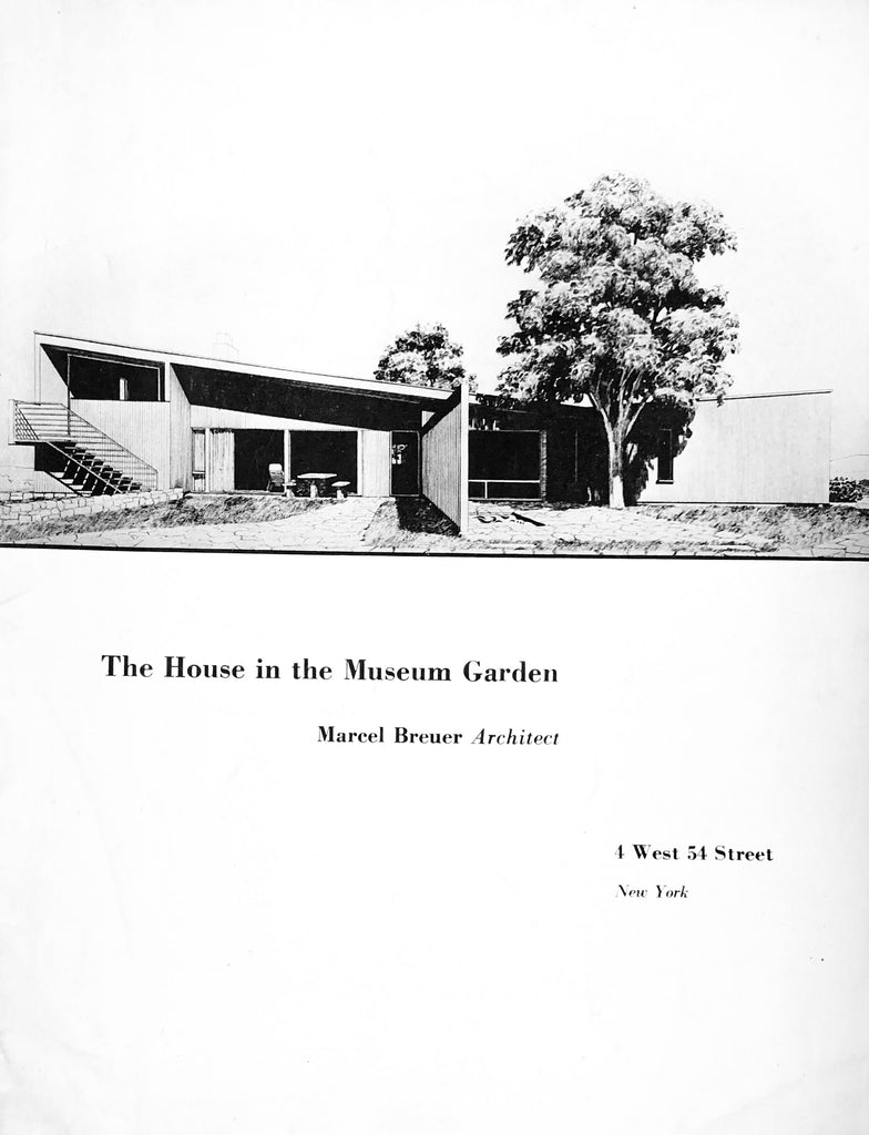 The House in the Museum Garden, Marcel Breuer Architect