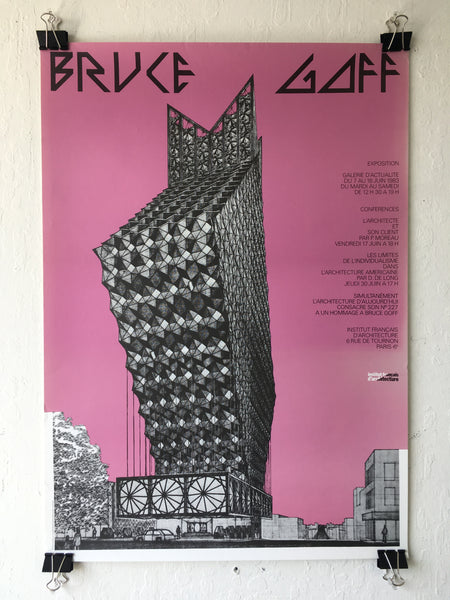 Bruce Goff Exposition Poster