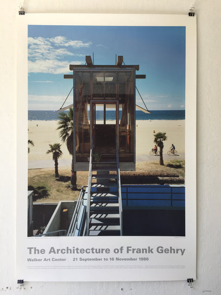 The Architecture of Frank Gehry Poster