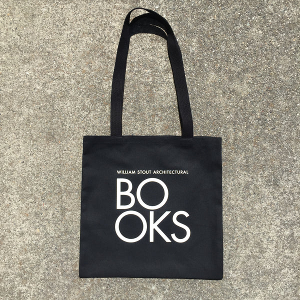 Stout Books Tote Bag - BLACK