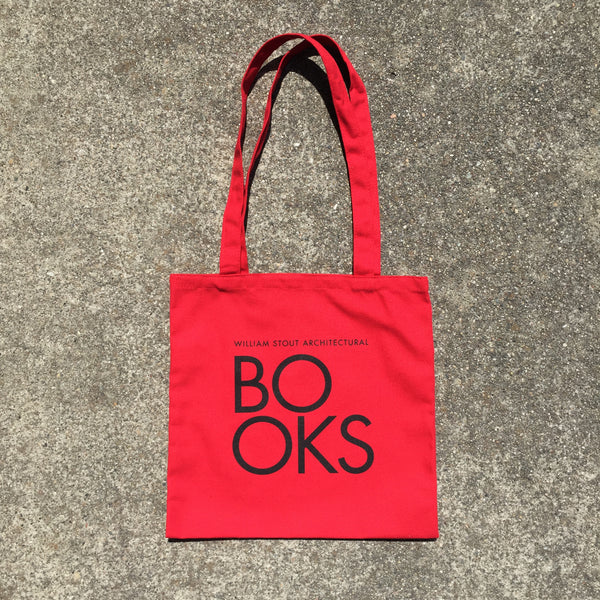 Stout Books Tote Bag - RED