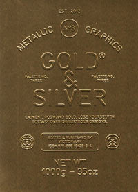 Palette 03: Gold & Silver Metallic Graphics