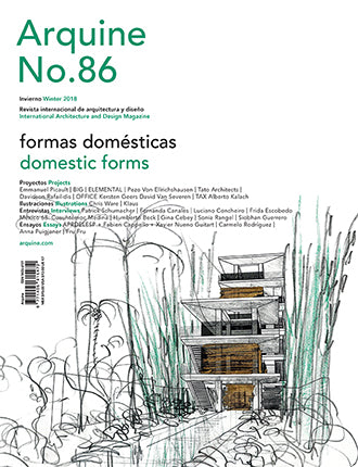 Arquine Magazine No.86 | Domestic Forms
