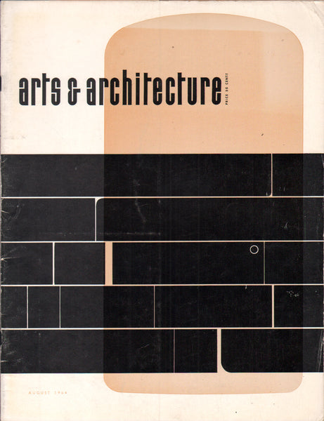 Arts & Architecture - August 1964