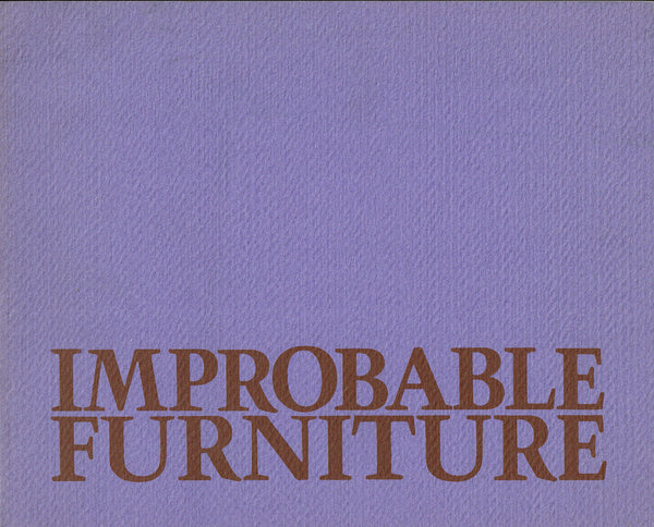 Improbable Furniture