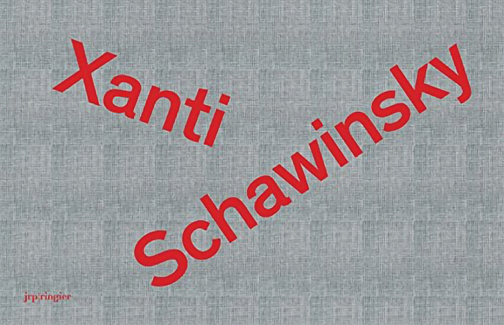 Xanti Schawinsky  The Album