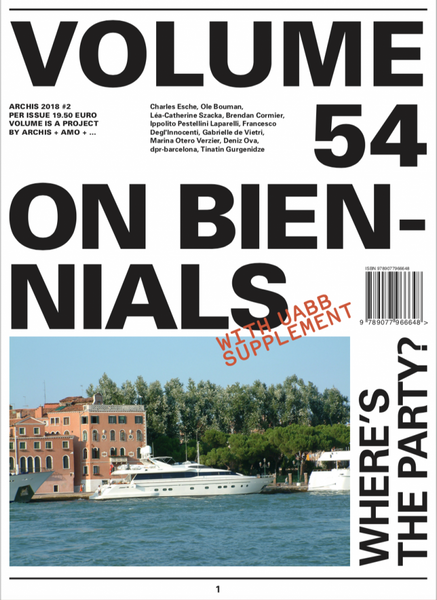 VOLUME 54: ON BIENNIALS