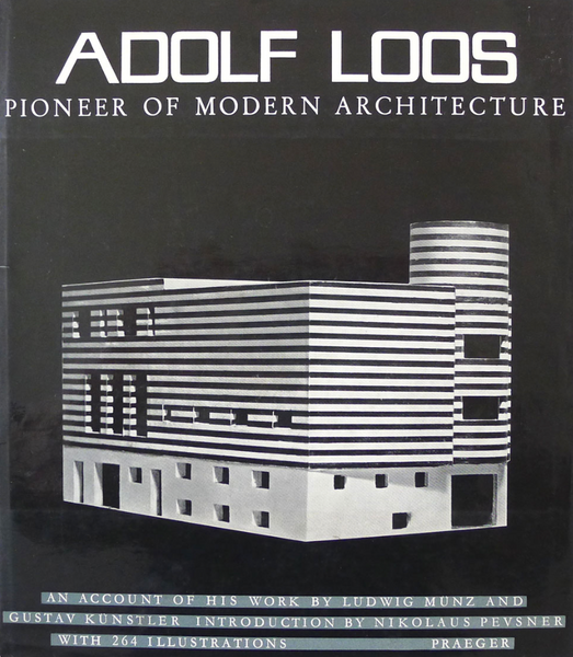 Adolf Loos: Pioneer of Modern Architecture