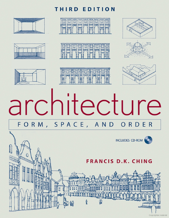 Architecture: Form Space & Order 3rd ed.