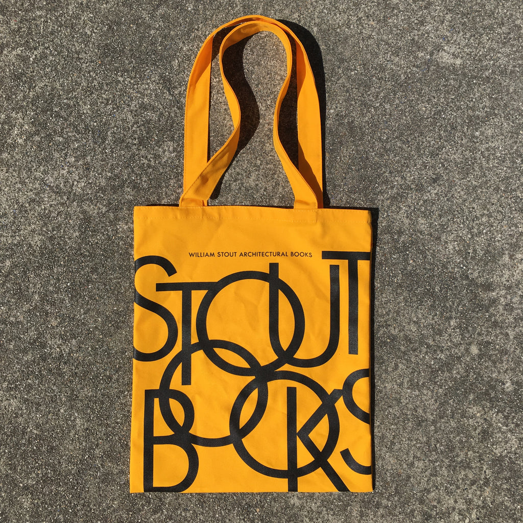 Stout Books Tote Bag - YELLOW